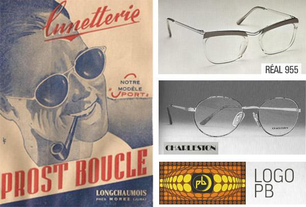 lunettes vintage années 1950
