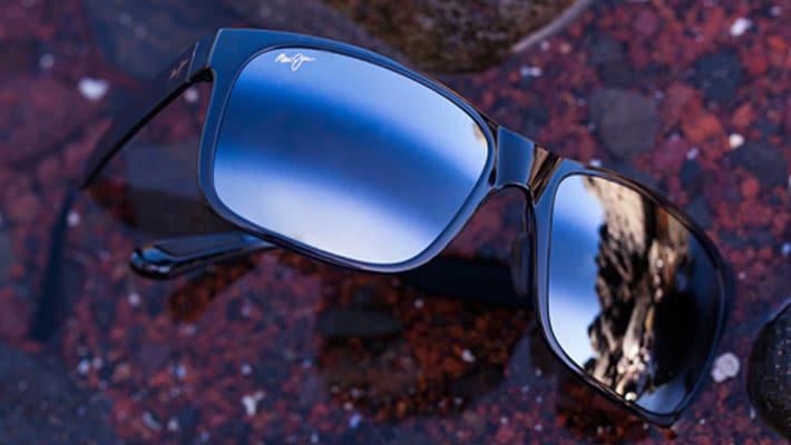 lunettes de soleil Mui Jim miroir bidégragé